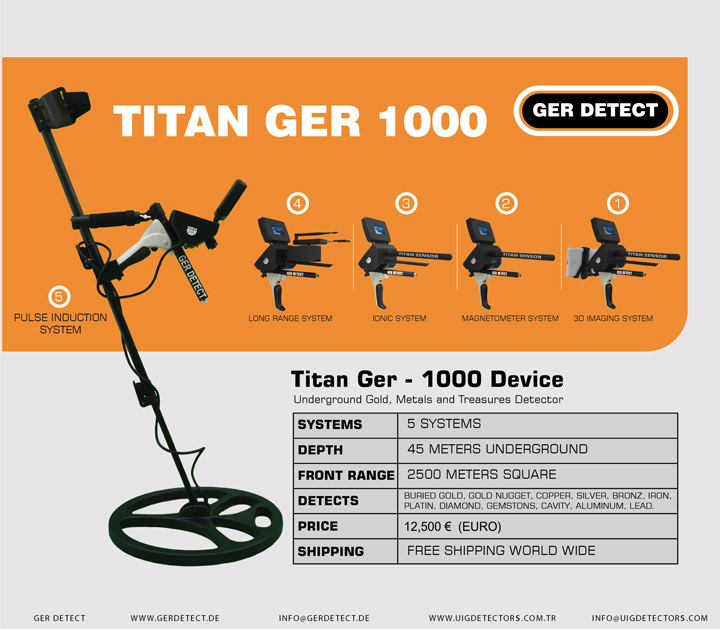 Brochure for TITAN GER - 1000 device