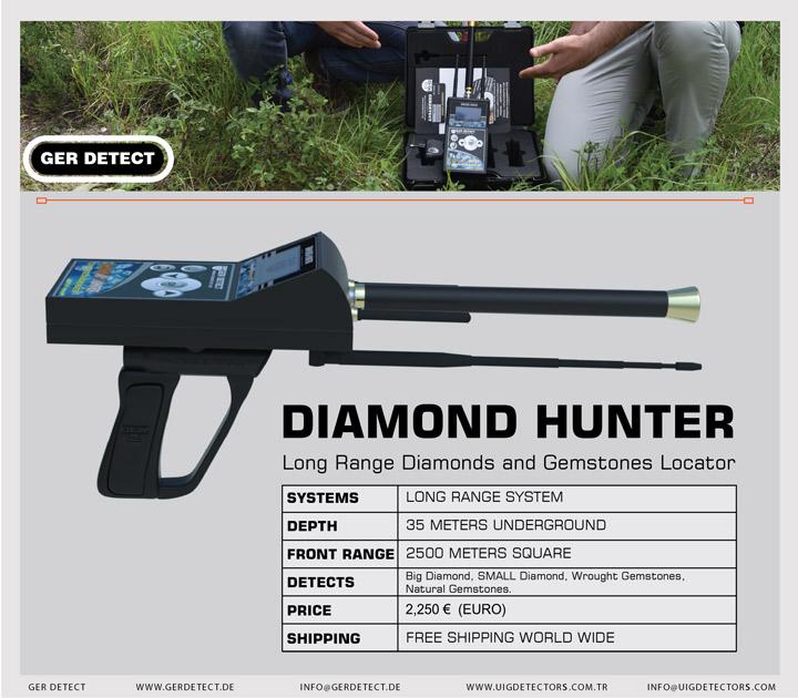 Brochure for DIAMOND HUNTER device